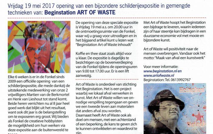 Beginstation Art of Waste